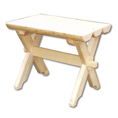 Rustikaler Gartentisch aus unbehandeltem Fichtenholz gartentisch fichte fichtenholz unbehandelt erzgebirge