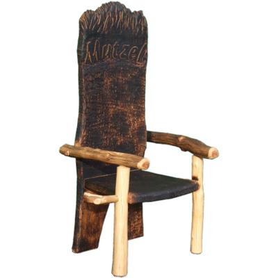 Stuhl aus Wildholz - auf Kundenwunsch stuhl wildholz getränkehalter Stuhl aus Wildholz