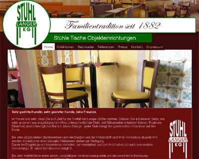 Befreundetes Unternehmen: Die Stuhl Langer in Clausnitz stuhl langer clausnitz